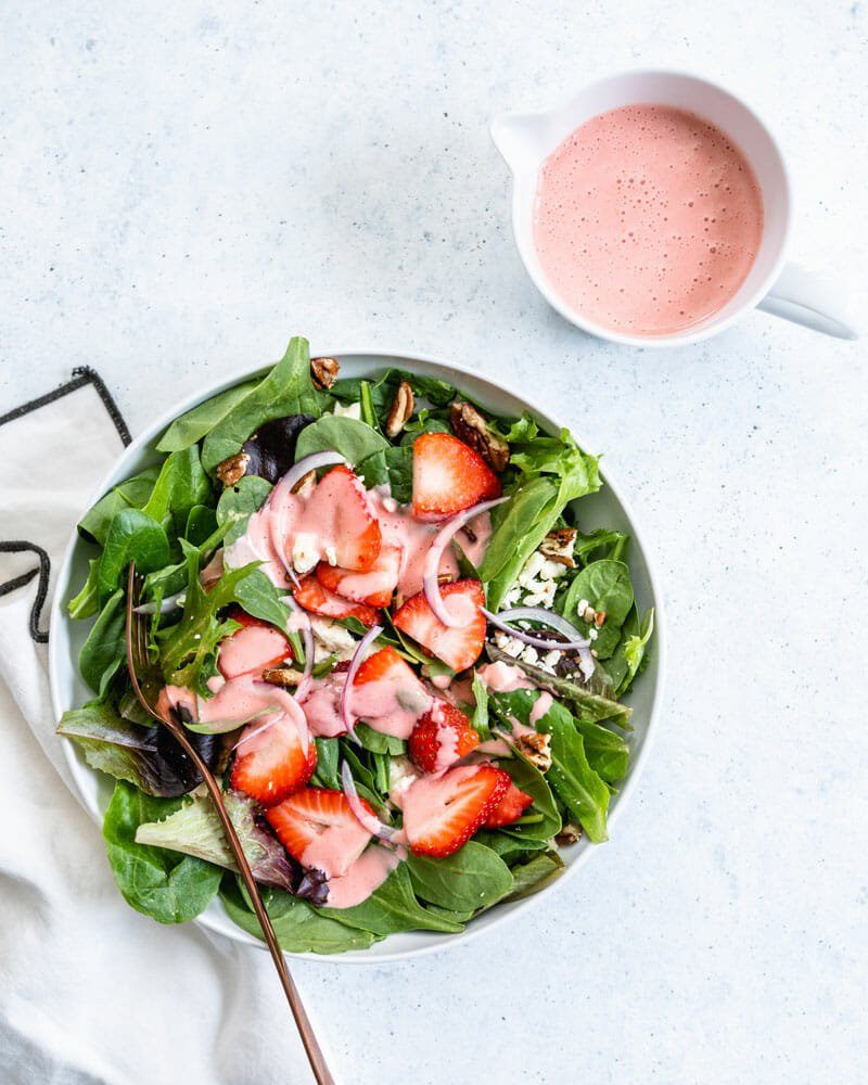 Strawberry Summer Salad A Couple Cooks