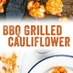 BBQ Grilled Cauliflower