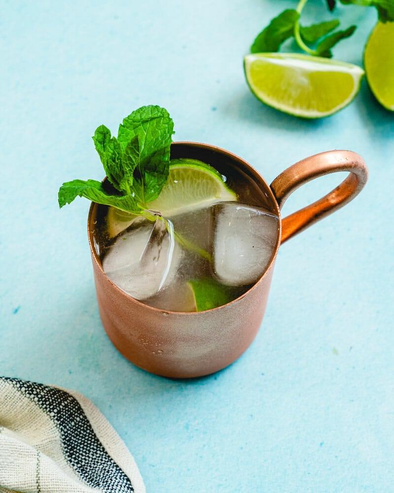 How to make a gin gin mule