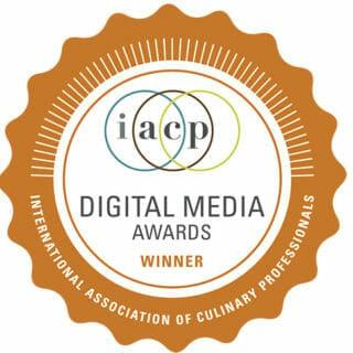 IACP Award Winning Food Blog
