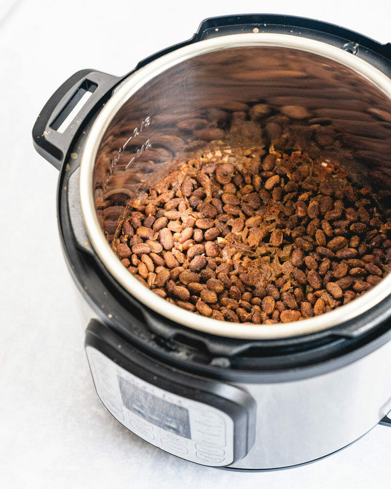 Beans in Instant Pot