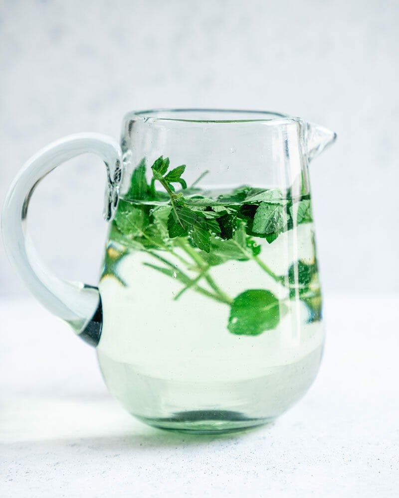 Easy Mint Water Recipe