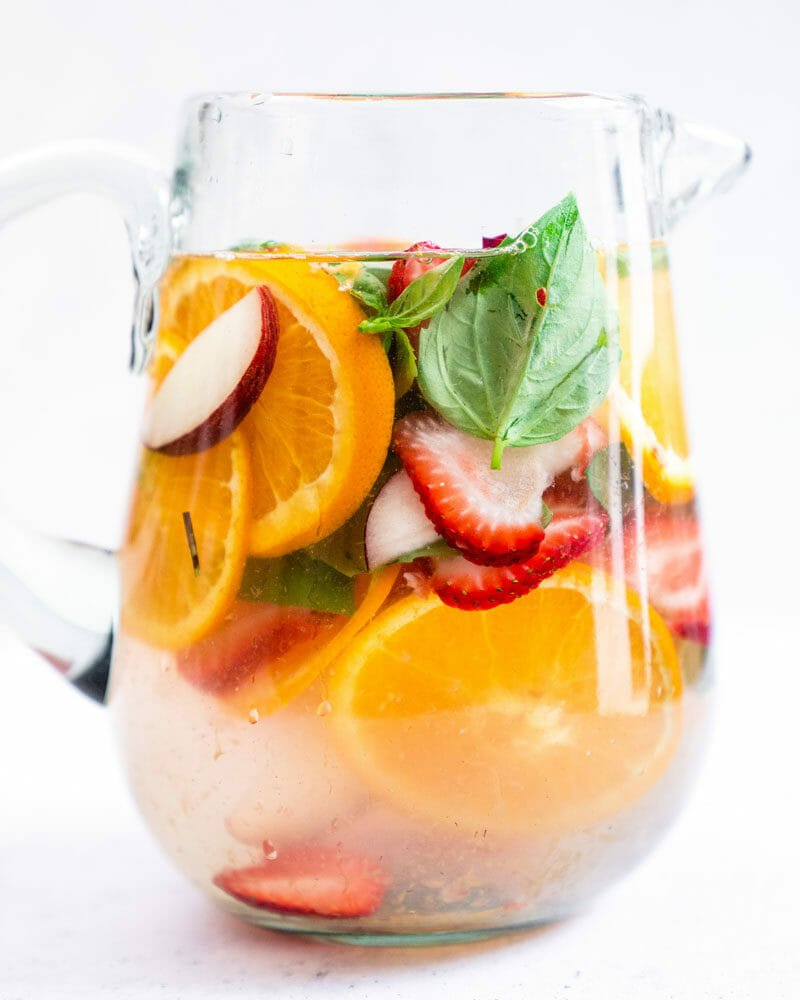 Fruit infused water recipe
