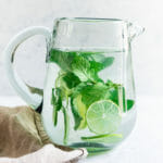 Lime water recipe with mint