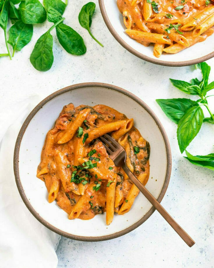 Creamy Penne (Instant Pot or Stovetop)