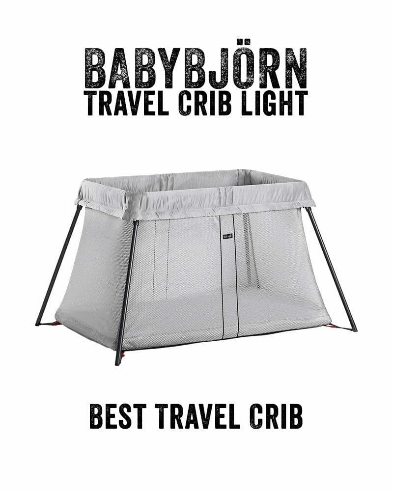 Best baby travel bed | Baby Bjorn Travel Crib Light