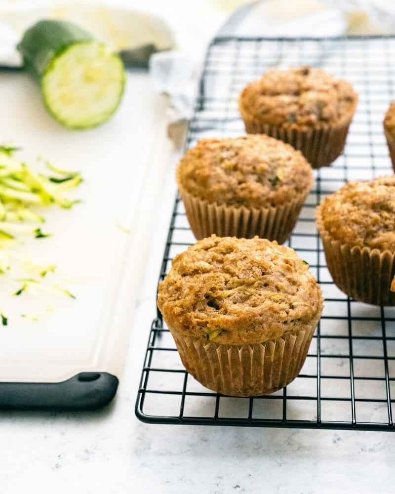 Easy zucchini muffins recipe