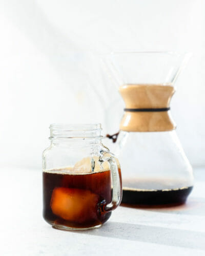 Chemex Iced Coffee (Pour over iced coffee)