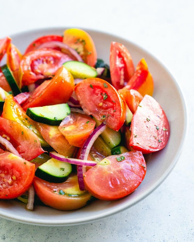 Cucumber Salad Recipe Red Onion
