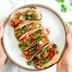 Quick dinner idea | 5 minute tacos