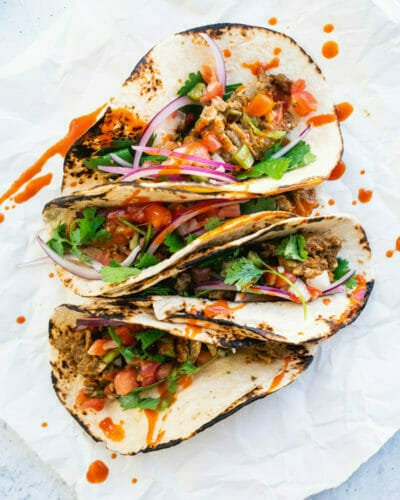 Quick Dinner Idea: 5 Minute Tacos
