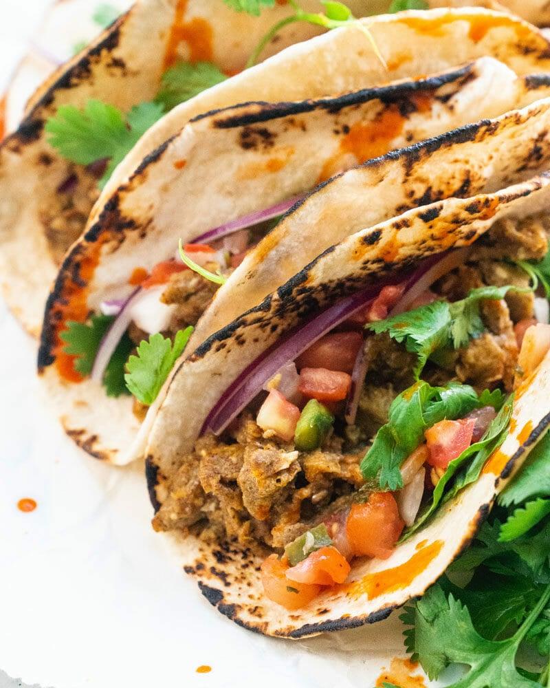 How to make egg tacos