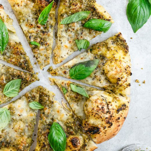 Basil Pizza