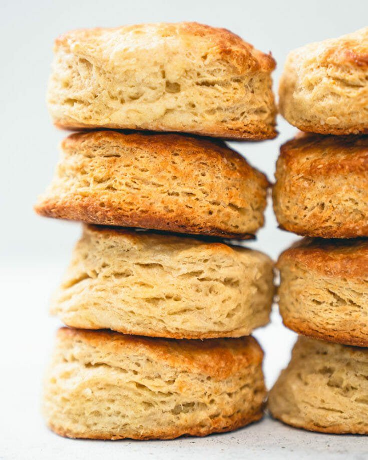 Flaky Homemade Biscuits