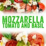 Mozzarella, Tomato, and Basil Salad
