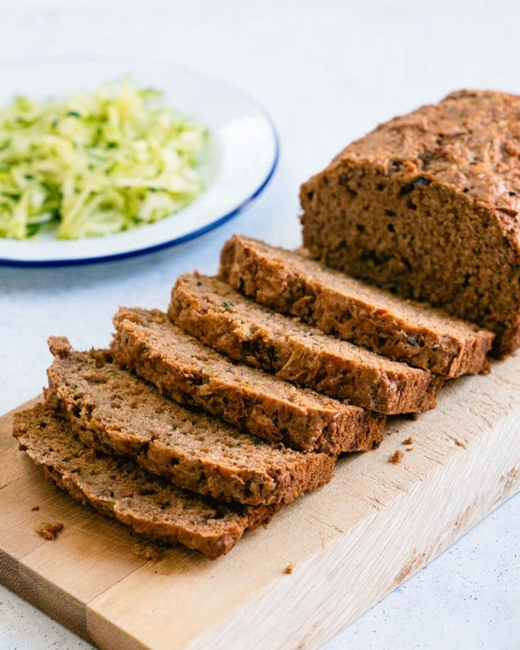 Best Vegan Zucchini Bread