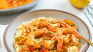 Famous Cajun Shrimp and Grits