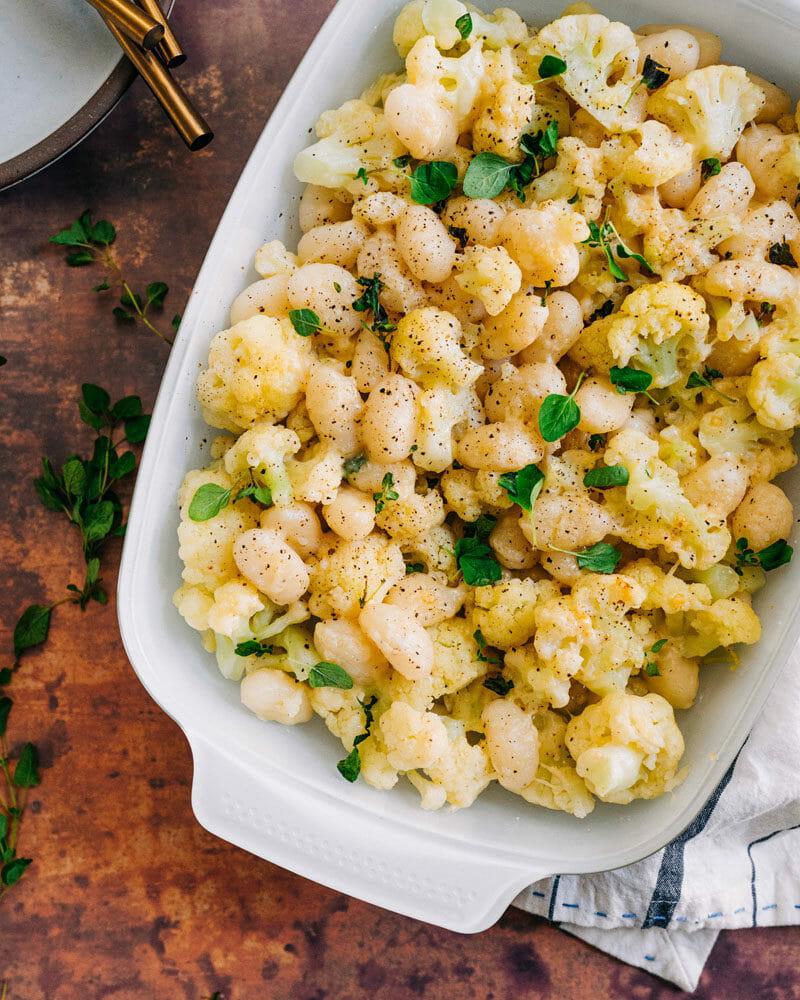 Gnocchi & Cauliflower Casserole