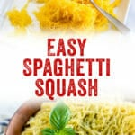 Easy Spaghetti Squash Recipe