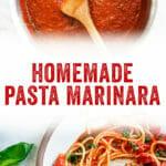 Homemade Pasta Marinara