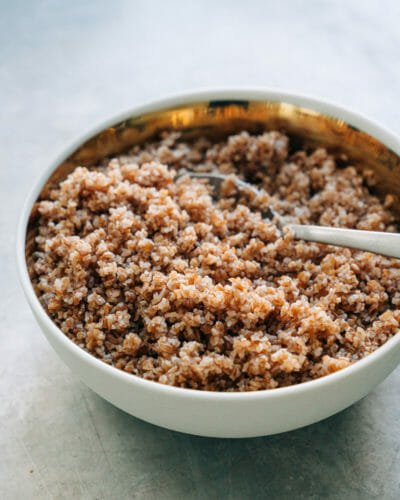 how to cook bulgur