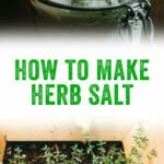 How to Make Herb Salt