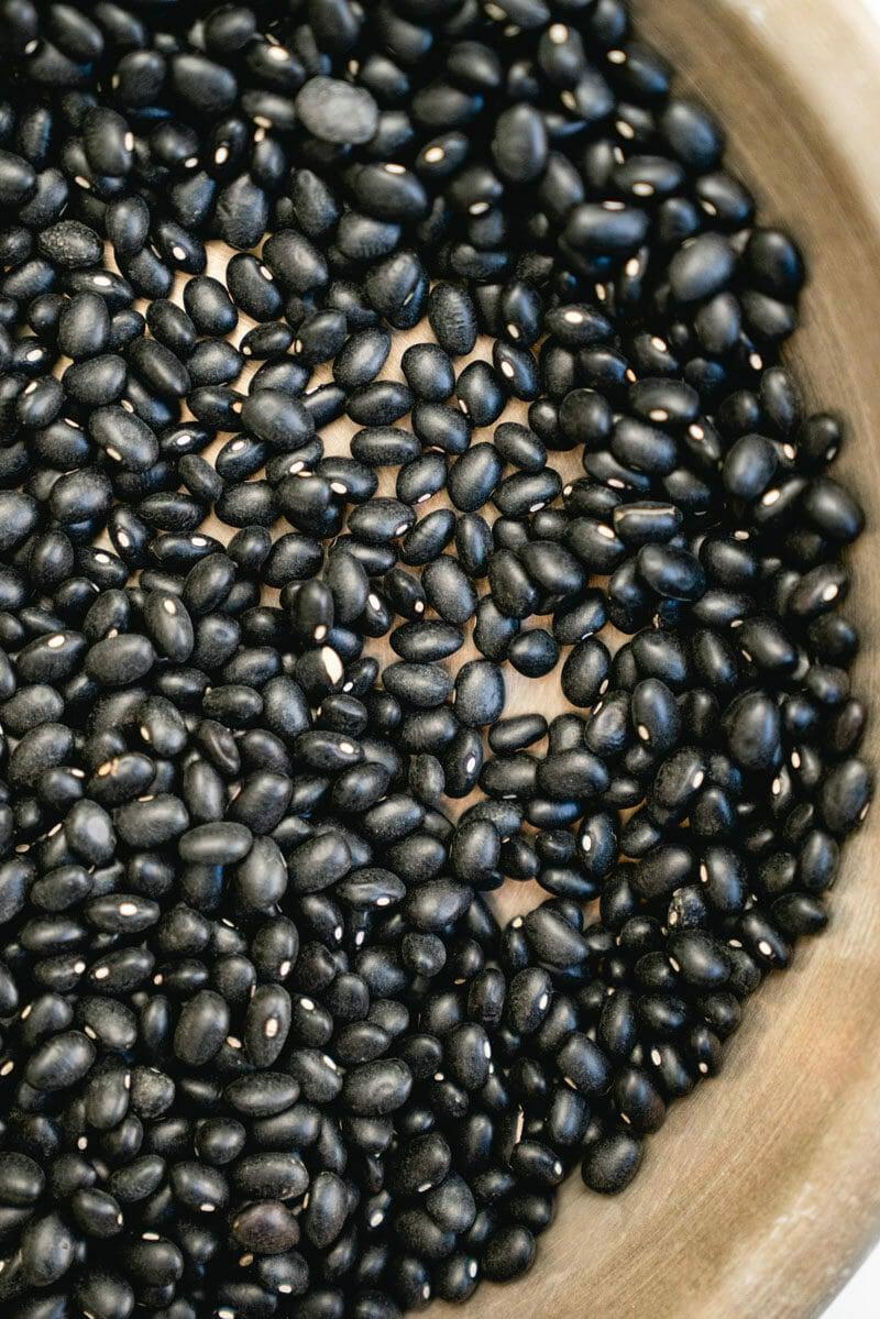 Dried black beans