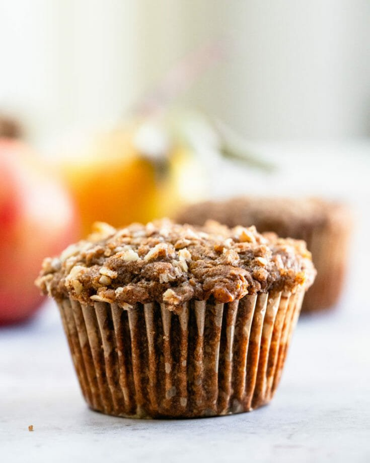 Apple Muffins with Streusel