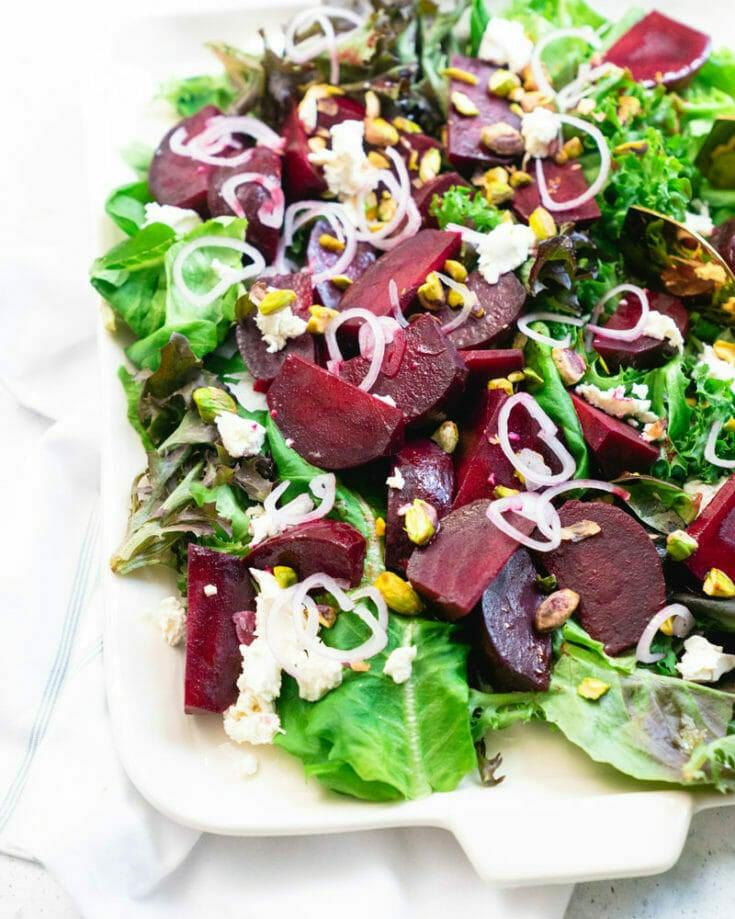 Beet Salad with Instant Pot Beets