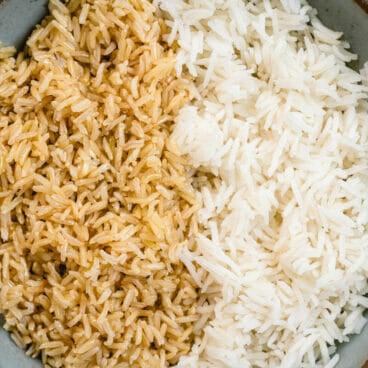 Brown rice vs white rice