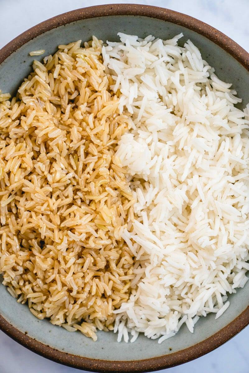 Brown basmati rice vs white basmati rice