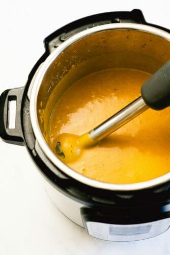 Instant Pot butternut squash soup