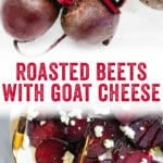 Roasted Beet with Goat Cheese