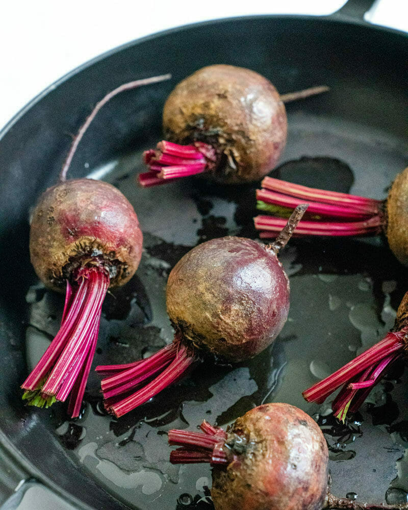 Oven roasted beets