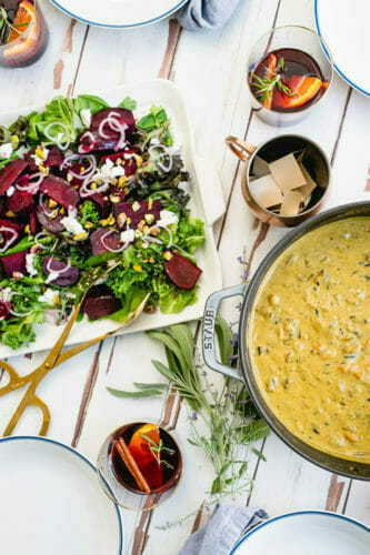 What to serve with creamy wild rice soup