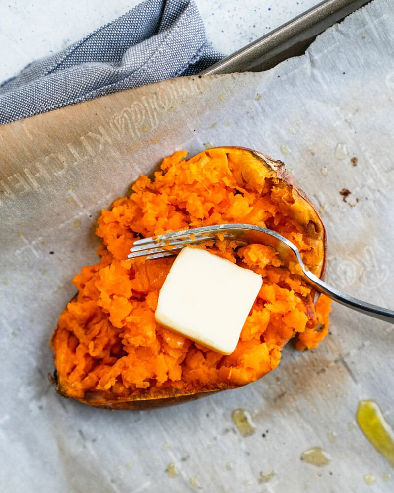 Quick Baked Sweet Potato Shortcut Trick A Couple Cooks