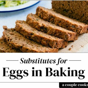 Egg Substitute for Baking