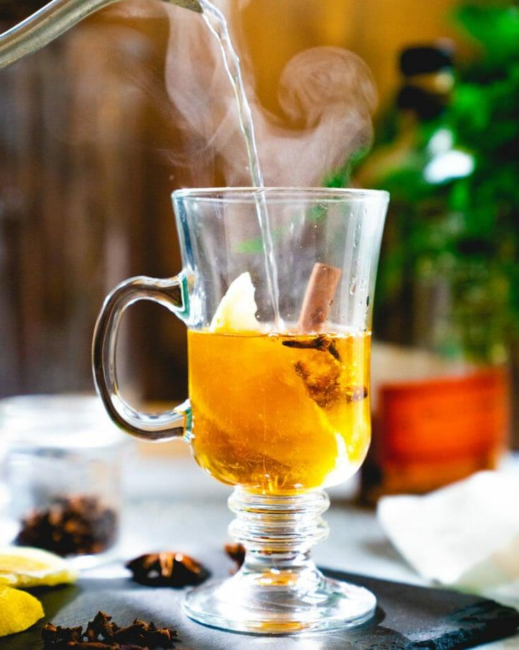 Bourbon Hot Toddy