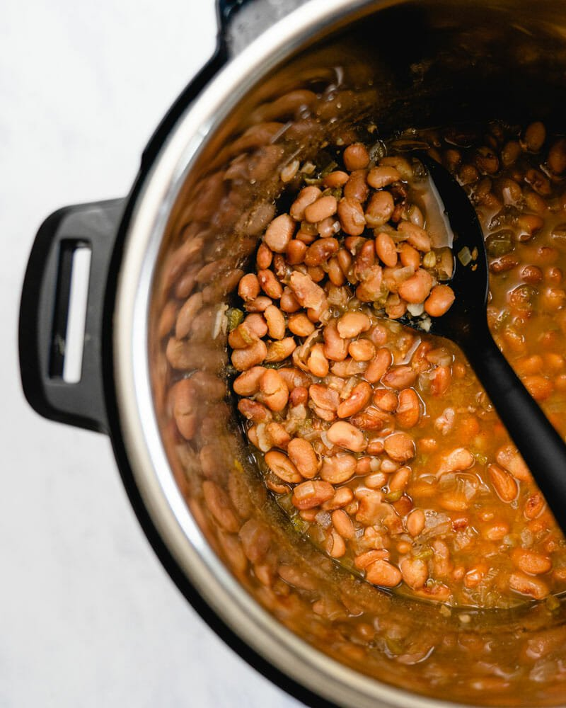 Easy Instant Pot Pinto Beans No Soaking Required A Couple Cooks