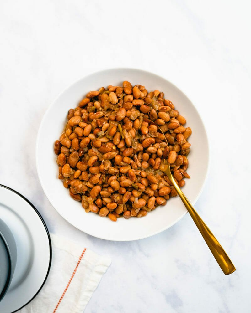 Instant pot Mexican pinto beans
