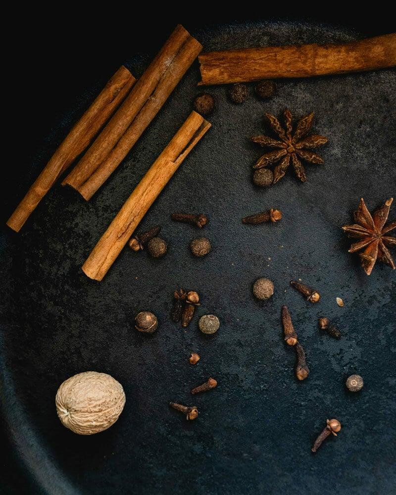 Apple cider spices
