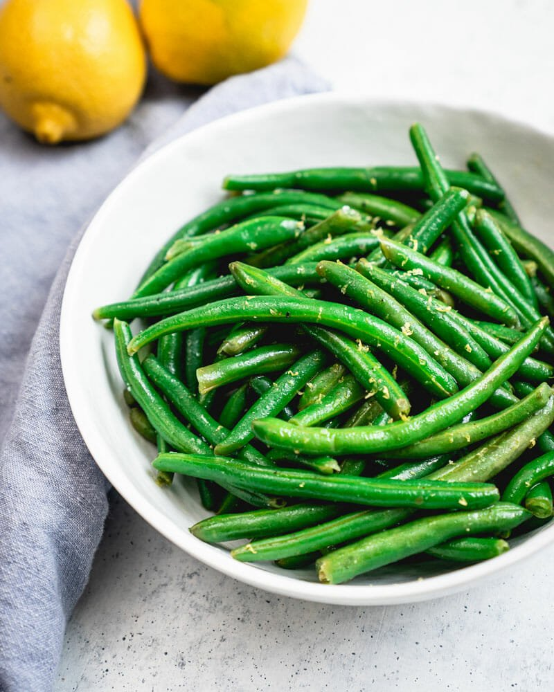 Instant Pot Green Beans With Lemon A Couple Cooks