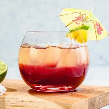 Layered drink