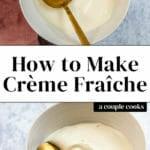 Homemade Creme Fraiche