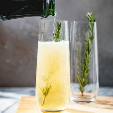 St Germain Champagne Cocktail