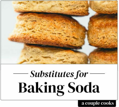 Substitute for baking soda
