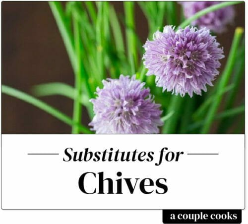 Substitute for Chives