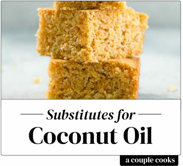 Substitute for coconut oil
