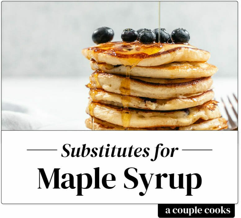 Substitute for Maple Syrup