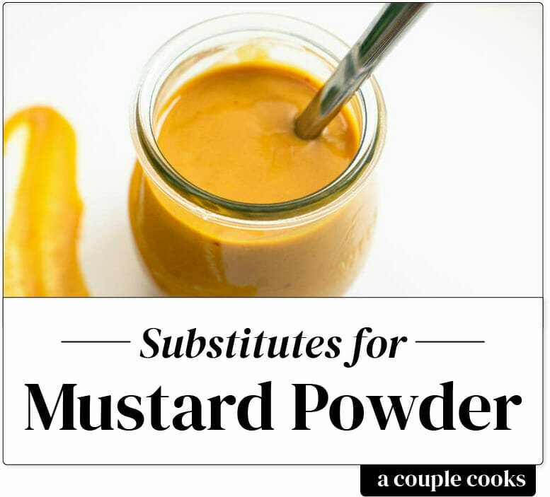 Best Substitute For Dry Mustard A Couple Cooks